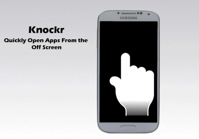 Knockr: le gesture e il doppio tap allo sblocco come su HTC One M8 per tutti gli Android!