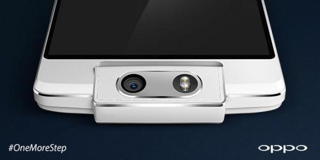 Oppo annuncia l'N3 con fotocamera motorizzata