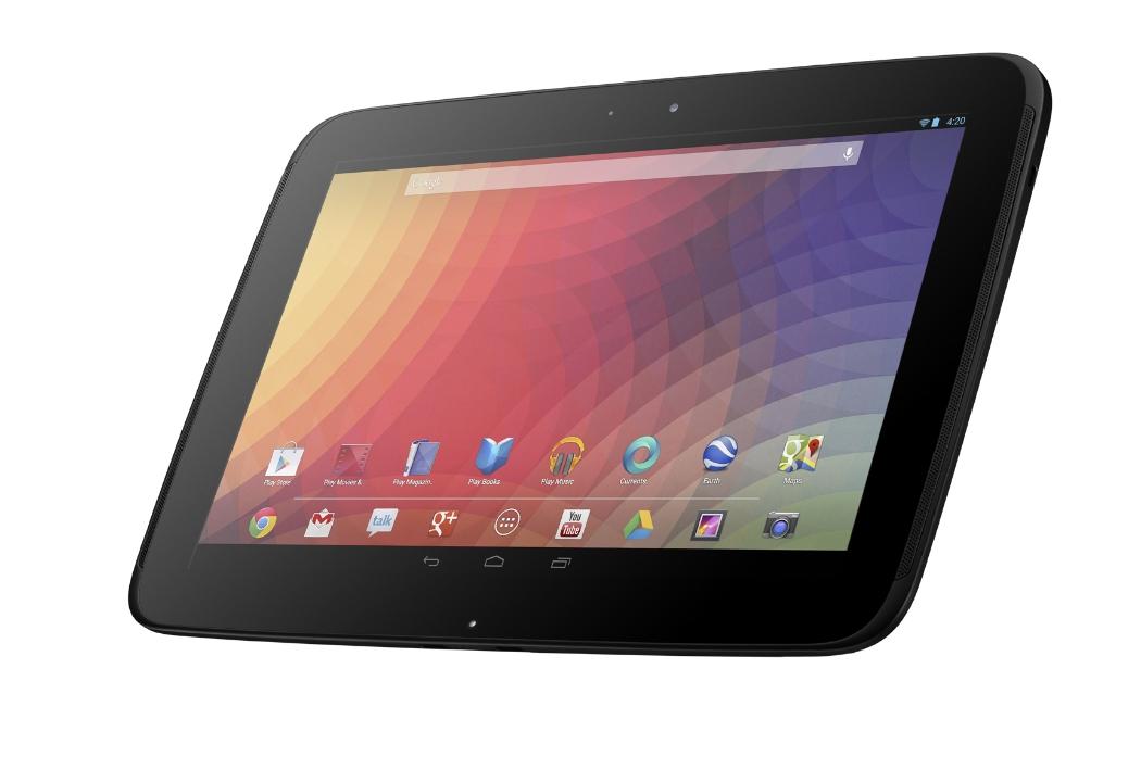 Il Nexus 10 arriverà anche nella versione con 64 GB di memoria interna!