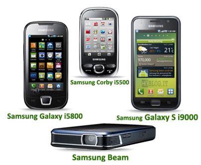 Samsung e android: facciamo il punto sulla nuova gamma android del