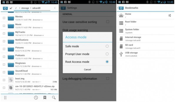 CyanogenMod File Manager: disponibile per il download l'apk