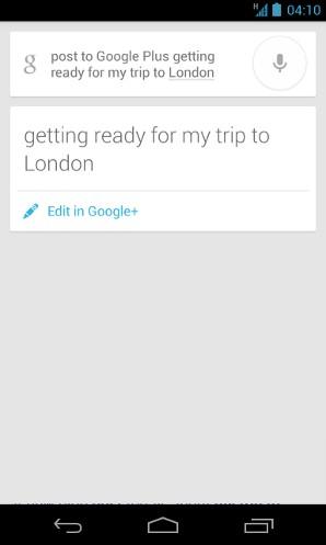 Google Now si aggiorna, giusto in tempo per le festività di Natale