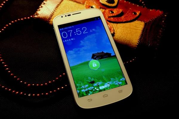 ZTE N909 Front