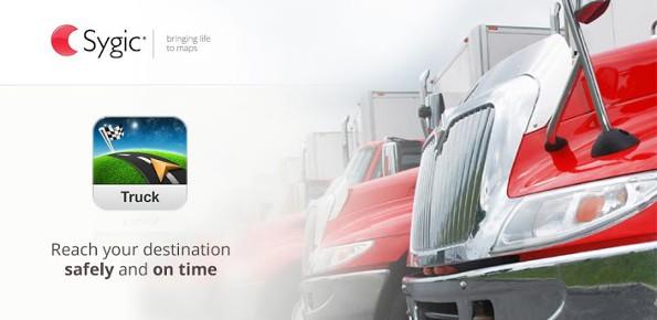 Sygic: nuova applicazione Truck per il traffico di TIR e camion e nuova release 13.1