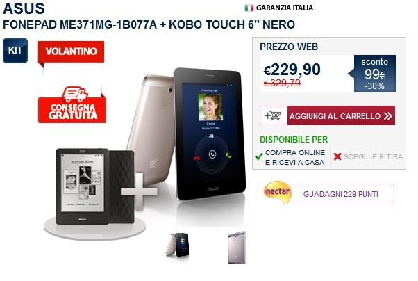 Asus FonePad Promo Unieuro