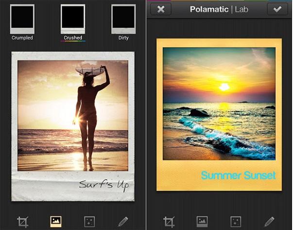 Polaroid Polamatic Screen
