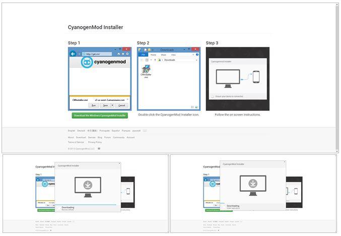 cyanogenmod installer windows